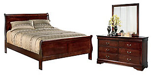 Alisdair 5-Piece Queen Master Bedroom, , large