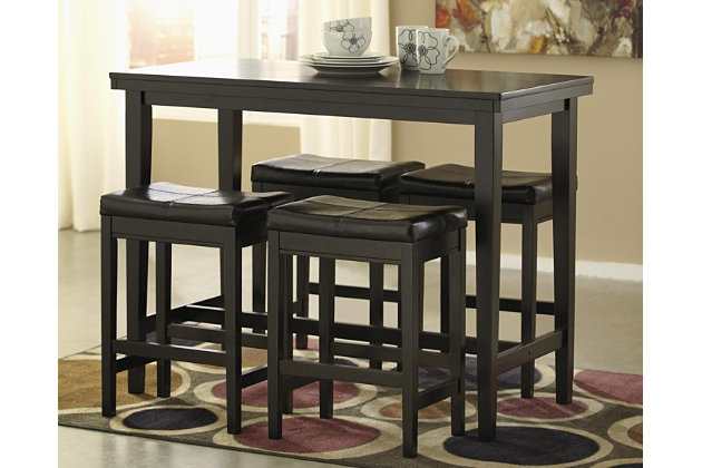 Kimonte 5-Piece Dining Room by Ashley HomeStore, Brown