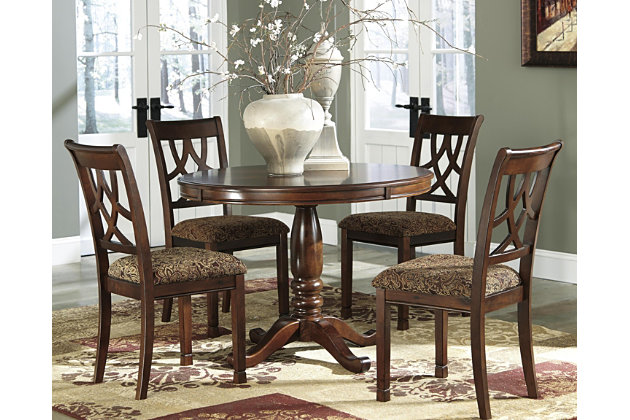Leahlyn 5-Piece Dining Room by Ashley HomeStore, Brown