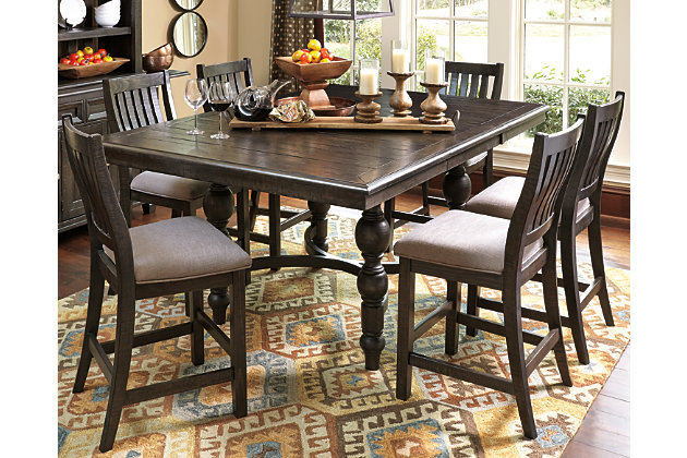 Townser 7 Piece Counter Dining Set, , Large ...