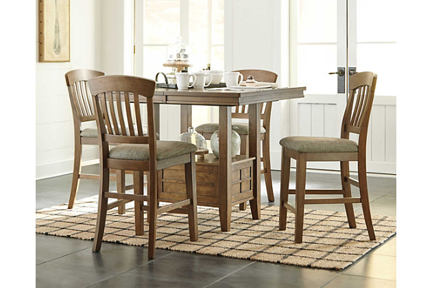 Tamburg 5-Piece Dining Set - Dining Room Sets Move-in Ready Sets Ashley Furniture HomeStore