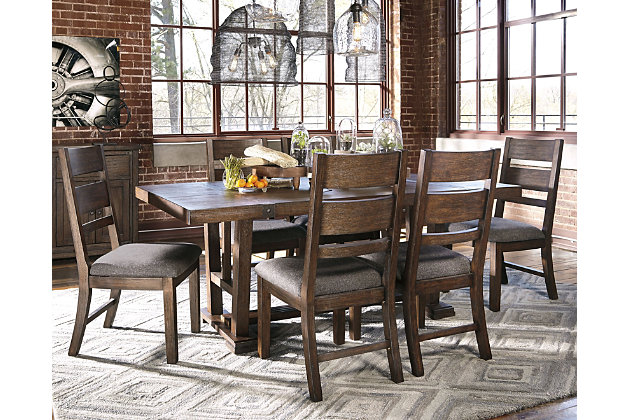 Zenfield 5-Piece Dining Room by Ashley HomeStore, Brown