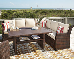 Salceda 4 Piece Outdoor Sectional Set