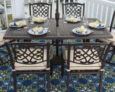 Burnella 5-Piece Outdoor Dining Set, , large