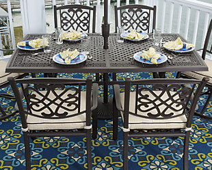 Burnella 5-Piece Outdoor Dining Set, , rollover