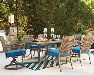 Partanna 7-Piece Outdoor Dining Set, , rollover