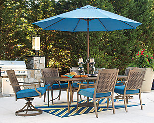 Partanna 9-Piece Outdoor Dining Set, , rollover