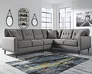 ... Large Zardoni 3 Piece Sectional, , Rollover