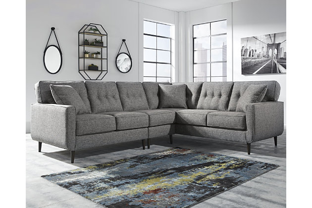 Zardoni 3 Piece Sectional Ashley Furniture Homestore