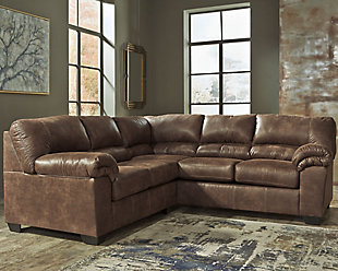 Bladen 2-Piece Sectional, Coffee, rollover