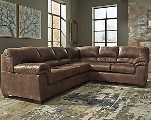 Bladen 3-Piece Sectional, Coffee, rollover