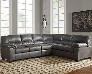 Bladen 3-Piece Sectional, Slate, rollover