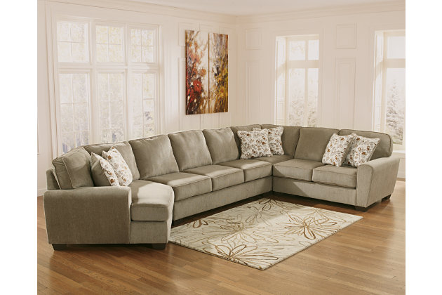 Patola Park 4-Piece Sectional with Cuddler, , large