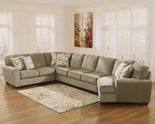 Patola Park 4-Piece Sectional with Cuddler, , rollover