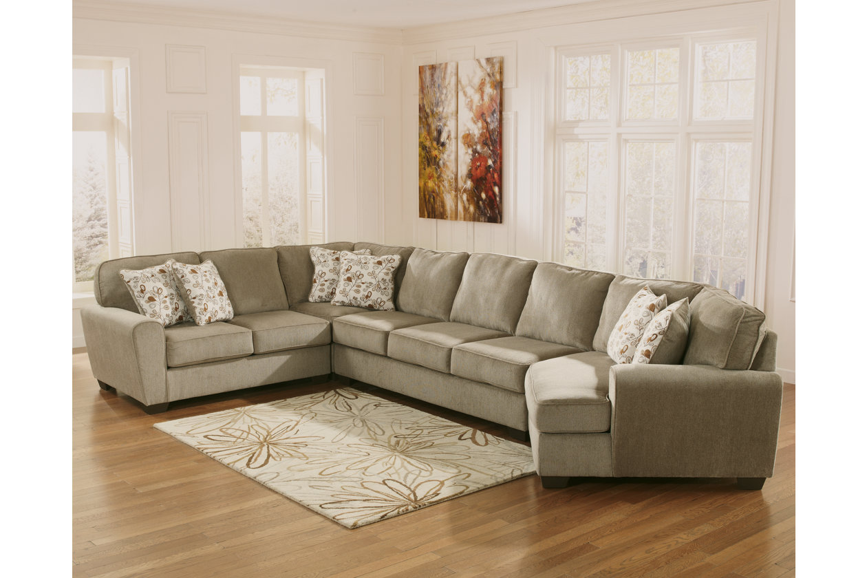 Miraculous Patola Park 4 Piece Sectional With Cuddler Ashley Forskolin Free Trial Chair Design Images Forskolin Free Trialorg