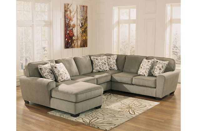 Patola Park 4 Piece Sectional With Chaise Ashley Furniture Homestore