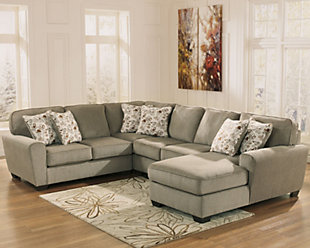 Patola Park 4-Piece Sectional with Chaise, , rollover