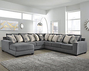 Castano 4-Piece Sectional with Chaise, , rollover