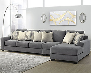 Castano 3-Piece Sectional with Chaise, , rollover