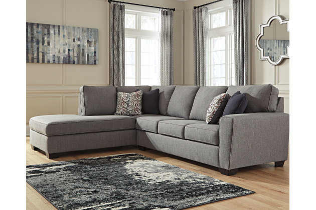Larusi 2 Piece Sectional With Chaise Ashley Furniture Homestore