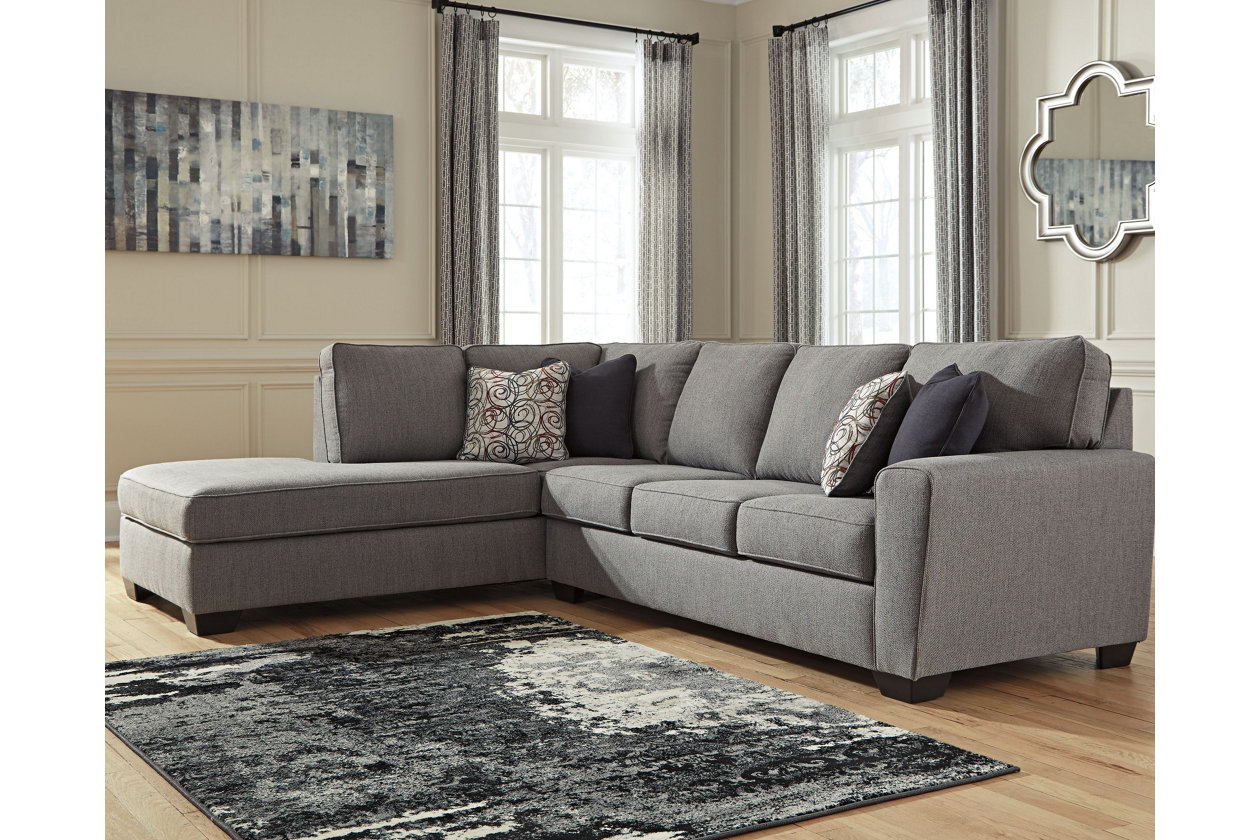 Awesome Larusi 2 Piece Sectional With Chaise Ashley Furniture Forskolin Free Trial Chair Design Images Forskolin Free Trialorg