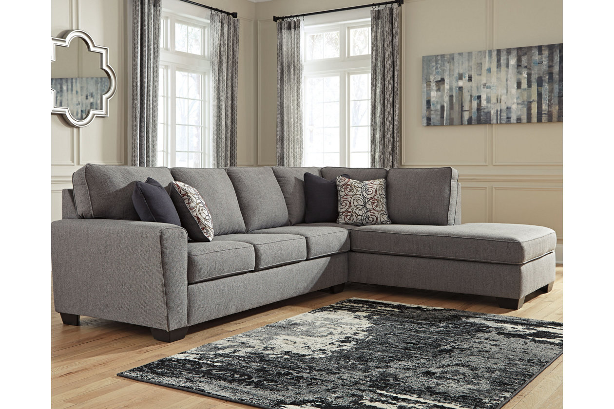 larusi 2-piece sectional with chaise | ashley furniture