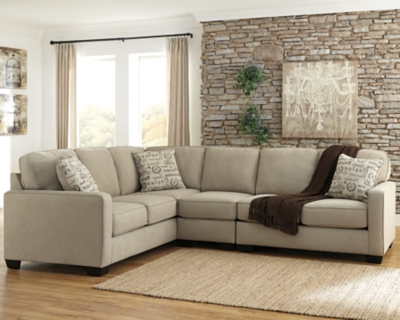 Alenya 3Piece Sectional Ashley Furniture HomeStore