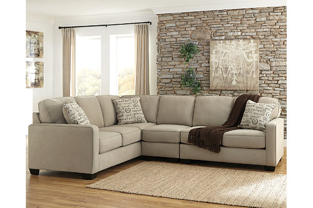 2 Accent Chairs And A Tv And Sectional.Alenya 3 Piece Sectional Ashley Furniture Homestore