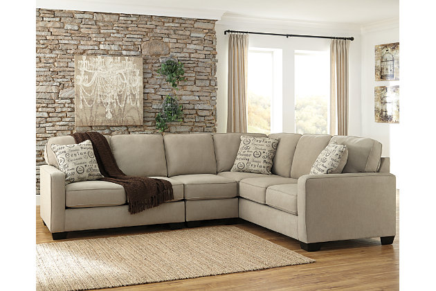 Alenya 3-Piece Sectional by Ashley HomeStore, Tan