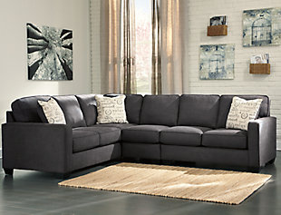 Alenya 3-Piece Sectional, Charcoal, rollover