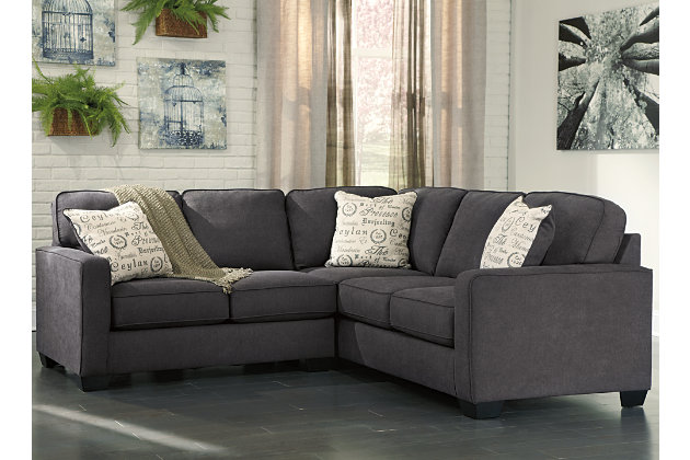 sofas of ashley sectional medium reviews large black couch famous leather bed furniture size sofa