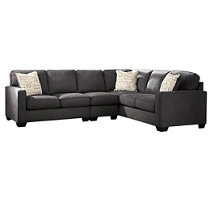 Product shown on a white background  sc 1 st  Ashley Furniture HomeStore : small black sectional sofa - Sectionals, Sofas & Couches