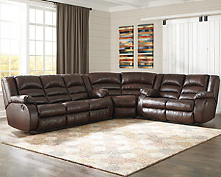 Levelland 3-Piece Reclining Sectional, , rollover