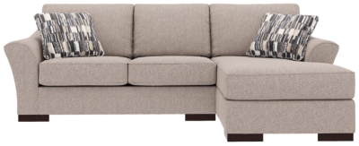 Piece Sectional Pillows Slate Nuvella Product Photo 598