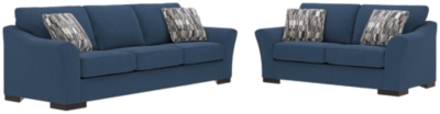Sofa Loveseat Pillows Indigo Nuvella Product Photo 381
