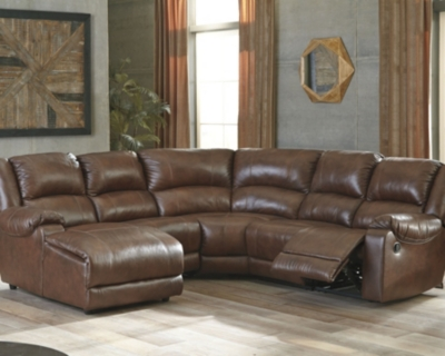 Sectional Canyon Leather Piece Product Photo 170