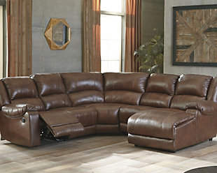 Billwedge 5-Piece Reclining Sectional with Chaise, , rollover