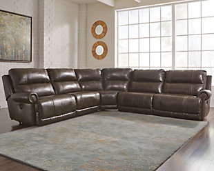 Dak 5-Piece Reclining Sectional with Power, , rollover