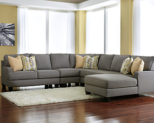 Chamberly 5-Piece Sectional with Chaise, , rollover