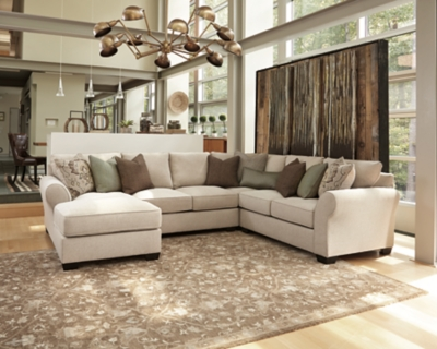 Valuable Loveseat Sectional Linen Piece Product Photo