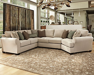 Wilcot 4-Piece Sectional with Cuddler, , rollover