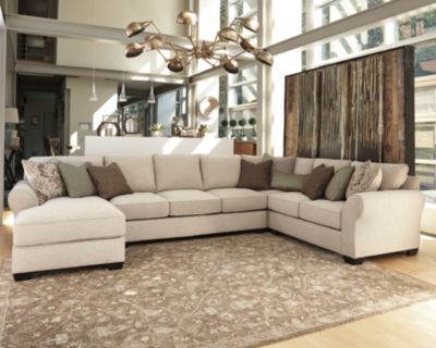 Wilcot 4-Piece Sofa Sectional by Ashley HomeStore, Linen