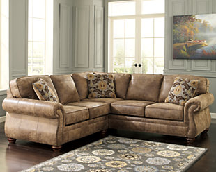 ... Large Larkinhurst 2 Piece Sectional, , Rollover