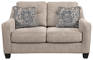 Karis Loveseat and Pillows, , rollover