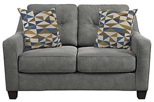 Karis Loveseat and Pillows, , large