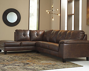 ... Large Goldstone 2 Piece Sectional, , Rollover