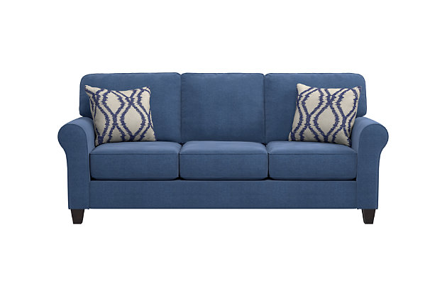 ashley furniture blue sofa hereo sofa