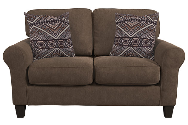 Aldy Loveseat and Pillows, , large