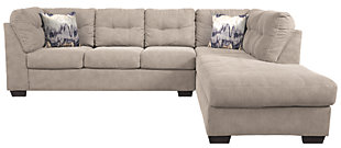 Sectional and Pillows, , large