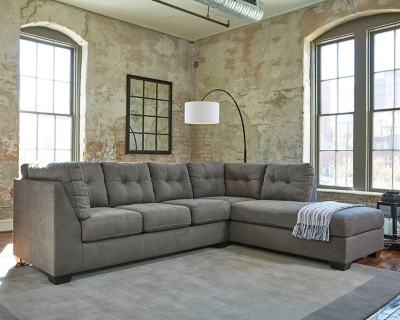 Pitkin 2 Piece Sectional With Chaise Ashley Furniture Homestore